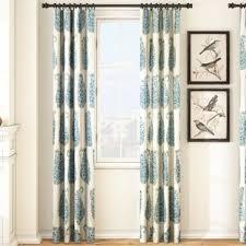 Teal Living Room Curtains Paisley Curtains You U0027ll Love Wayfair