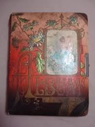 Antique Photo Album Victorian Photo Album With Heart Shaped Mirror I Have This With