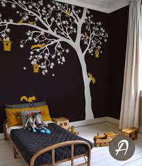 this tree decal will give your room cozy feeling in minutes