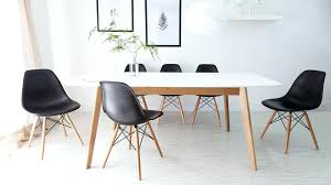 Dining Table Charles Eames Style Dining Table White Kitchen