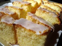 buttercream barbie lemon pound cake