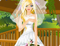 wedding dress up beautiful flower girl