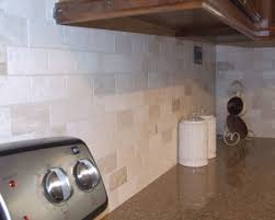 Travertine Tile Backsplash Houzz - Travertine tile backsplash