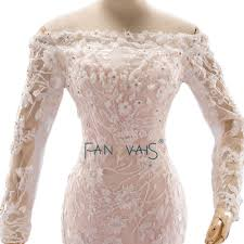 blush wedding dress with sleeves aliexpress buy real picture blush wedding dresses