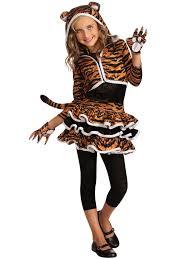 tigress hoodie costume girls animal halloween costumes