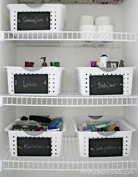 photos of organized linen closets