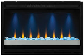 com classicflame 36eb111 grc 36 contemporary built in electric fireplace insert 120 volt home kitchen