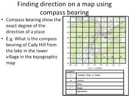 secondary 1 geography topographic map