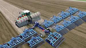 Smart Technology Modern Farming Usa Amazing Agriculture Machine
