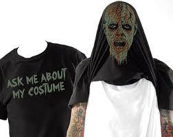 Zombie Costume Zombie Costume Etsy