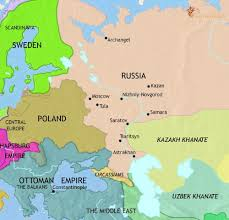 map of kazan map of russia at 1648ad timemaps