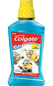 minions toothpaste toddlers fluoride colgate kids