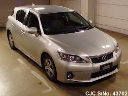 lexus ct200h used car for sale 2011 lexus ct200h silver for sale stock no 43702 japanese
