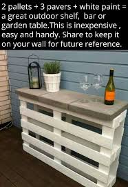 Console Bar Table by Best 25 Bar Made From Pallets Ideas On Pinterest Diy Outdoor