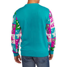 multicolor men u0027s ugly christmas sweater walmart com
