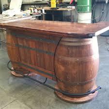 whiskey barrel bar table pin by robert underwood on tables pinterest barrels bar and men