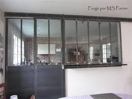 separation de cuisine en verre separation de cuisine en verre 6 cloison verre style atelier