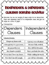 add an independent clause to a dependent clause dependent clause