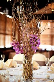 curly willow centerpieces curly willow and orchid centerpiece a photo on flickriver