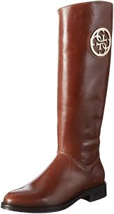 guess boots womens guess s knee high boots beige shoes