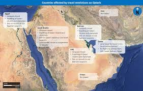 Current Map Of Middle East by How Countries Cutting Ties With Qatar Is Likely To Influence Region