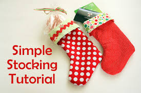 dazzling how to make christmas stockings easy 18 diy craft