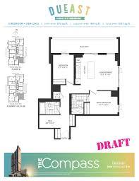 Den Floor Plan Dueast Condos Floorplans Pricing U0026 Platinum Access Regent