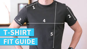 how your t shirts should fit t shirt fit guide for men youtube
