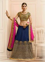 lengha choli for engagement 2016 indian rajasthani ghagra buy online blue