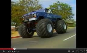 bigfoot 4x4 crazy monster truck