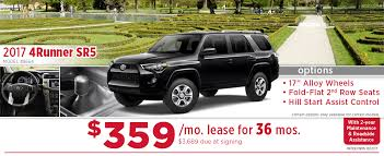 toyota 4runner model years 2017 toyota 4runner specials wichita car purchase lease deals