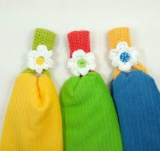 pattern crochet towel holder daisytowelholder jpg