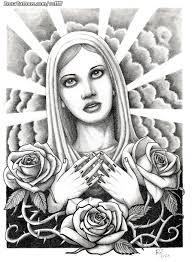 imagenes tatuajes de la virgen maria diseño de vírgenes rosas espinos tatuajes de virgenes rufino y