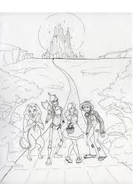 Wizard Of Oz Coloring Pages Wizard Of Oz Coloring Pages Free Wizard Of Oz Coloring Pages