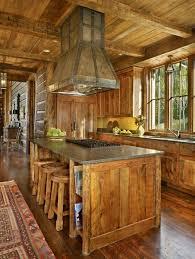 cuisines rustiques bois cuisine en bois rustique idées décoration intérieure