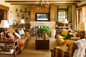 Ski Lodge Interior Design Lodge Décor In Luxurious And Natural Rustic Style The Latest