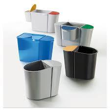 poubelle bureau poubelle de bureau tribu avec tri sélectif mobilier de bureau