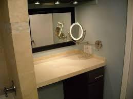 lighted bathroom wall mirror large lighted bathroom mirror