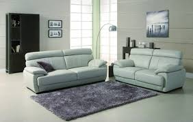 Purple And Grey Sofa Set Bravo Sofa U0026 Loveseat In Grey Leather W Options