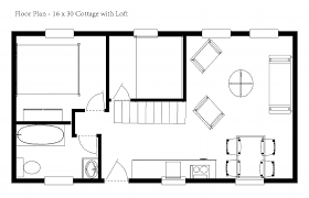 simple cabin floor plans simple cottage floor plans house plans 58244