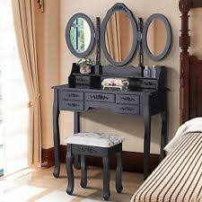 vanity dressing table with mirror mirrored dressing table ebay