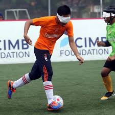 Paralympics Blind Football Malaysia U0027s Blind Footballers Aiming For World Cup R Age R Age