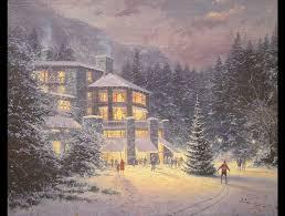 Thomas Kinkade Clocktower Cottage by Thomas Kinkade Ocean Paintings Thomas Kinkade Christmas At The