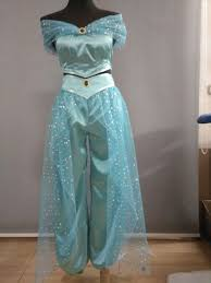 Princess Jasmine Halloween Costume Women Free Shipping 2017 Custom Halloween Princess