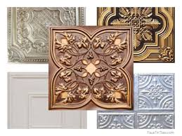 2x4 Suspended Ceiling Tiles Home Depot by Interior Diy Faux Tin Ceiling Tiles Faux Tin Ceiling Tiles