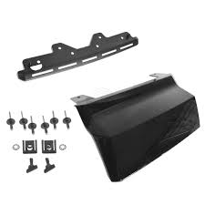 oem trailer hitch closeout cover with install kit for chevy
