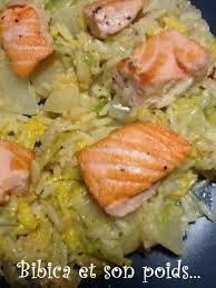 cuisiner chou chinois dés de saumon sur chou chinois au philadelphia bibica s cooking