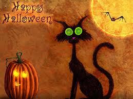 my free wallpapers cartoons wallpaper halloween spooky cat