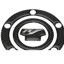 yamaha emblem kodaskin motorcycle carbon tank protector pad sticker decal emblem