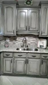 Black And White Kitchen Cabinets best 25 distressed cabinets ideas on pinterest metal accents